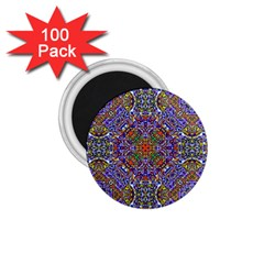 Oriental Pattern 01a 1 75  Magnets (100 Pack)  by MoreColorsinLife
