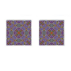 Oriental Pattern 01a Cufflinks (square) by MoreColorsinLife