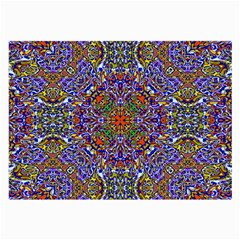 Oriental Pattern 01a Large Glasses Cloth by MoreColorsinLife