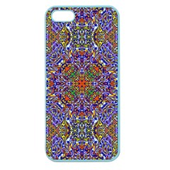 Oriental Pattern 01a Apple Seamless Iphone 5 Case (color) by MoreColorsinLife