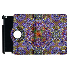 Oriental Pattern 01a Apple Ipad 2 Flip 360 Case by MoreColorsinLife