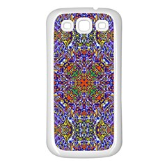 Oriental Pattern 01a Samsung Galaxy S3 Back Case (white) by MoreColorsinLife