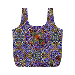 Oriental Pattern 01a Full Print Recycle Bags (m)  by MoreColorsinLife