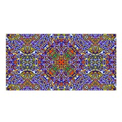 Oriental Pattern 01a Satin Shawl by MoreColorsinLife