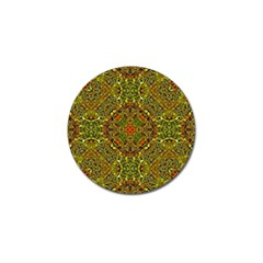 Oriental Pattern 01b Golf Ball Marker (4 Pack) by MoreColorsinLife