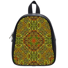 Oriental Pattern 01b School Bags (small)  by MoreColorsinLife