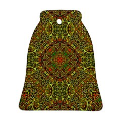 Oriental Pattern 01b Bell Ornament (two Sides) by MoreColorsinLife