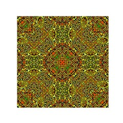 Oriental Pattern 01b Small Satin Scarf (square) by MoreColorsinLife