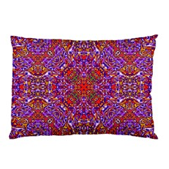 Oriental Pattern 01c Pillow Case by MoreColorsinLife