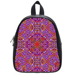 Oriental Pattern 01c School Bags (small)  by MoreColorsinLife
