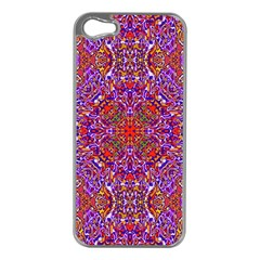 Oriental Pattern 01c Apple Iphone 5 Case (silver) by MoreColorsinLife