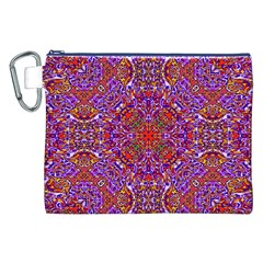 Oriental Pattern 01c Canvas Cosmetic Bag (xxl) by MoreColorsinLife