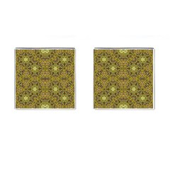 Oriental Pattern 02a Cufflinks (square) by MoreColorsinLife