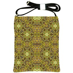 Oriental Pattern 02a Shoulder Sling Bags by MoreColorsinLife