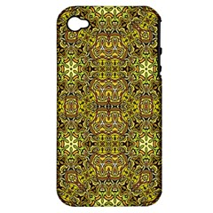 Oriental Pattern 02a Apple Iphone 4/4s Hardshell Case (pc+silicone) by MoreColorsinLife