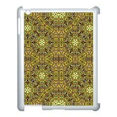 Oriental Pattern 02a Apple Ipad 3/4 Case (white) by MoreColorsinLife