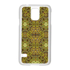 Oriental Pattern 02a Samsung Galaxy S5 Case (white) by MoreColorsinLife