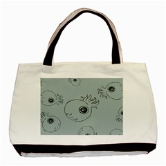 Tiny Octopus Basic Tote Bag by Mariart