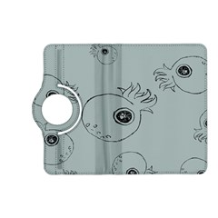 Tiny Octopus Kindle Fire Hd (2013) Flip 360 Case by Mariart
