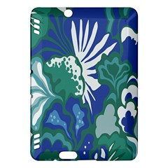 Tropics Leaf Bluegreen Kindle Fire Hdx Hardshell Case by Mariart