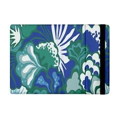Tropics Leaf Bluegreen Ipad Mini 2 Flip Cases by Mariart