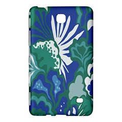 Tropics Leaf Bluegreen Samsung Galaxy Tab 4 (8 ) Hardshell Case  by Mariart