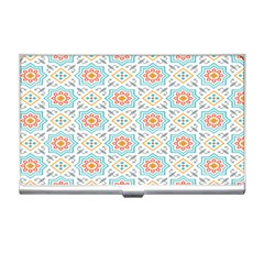 Star Sign Plaid Business Card Holders by Mariart