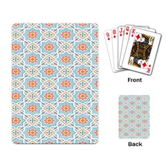 Star Sign Plaid Playing Card by Mariart