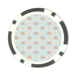 Star Sign Plaid Poker Chip Card Guard by Mariart