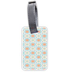 Star Sign Plaid Luggage Tags (two Sides) by Mariart