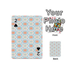 Star Sign Plaid Playing Cards 54 (mini)  by Mariart