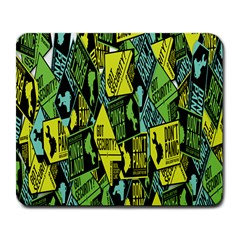 Sign Don t Panic Digital Security Helpline Access Large Mousepads by Mariart