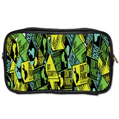 Sign Don t Panic Digital Security Helpline Access Toiletries Bags by Mariart