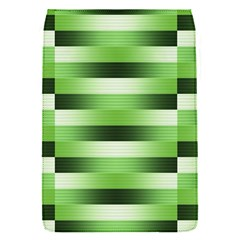 View Original Pinstripes Green Shapes Shades Flap Covers (s)  by Mariart