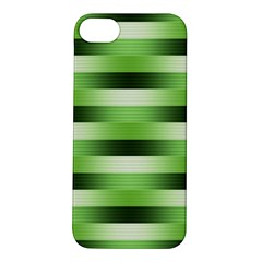 View Original Pinstripes Green Shapes Shades Apple Iphone 5s/ Se Hardshell Case