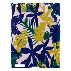Tropics Leaf Yellow Green Blue Apple Ipad 3/4 Hardshell Case by Mariart