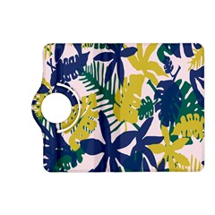 Tropics Leaf Yellow Green Blue Kindle Fire Hd (2013) Flip 360 Case by Mariart