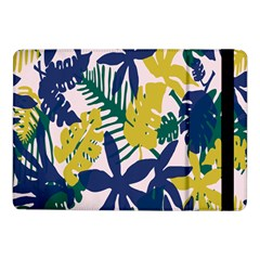 Tropics Leaf Yellow Green Blue Samsung Galaxy Tab Pro 10 1  Flip Case by Mariart