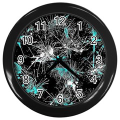 Color Fun 03a Wall Clocks (black) by MoreColorsinLife