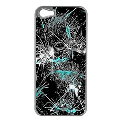 Color Fun 03a Apple Iphone 5 Case (silver) by MoreColorsinLife