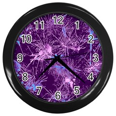 Color Fun 03c Wall Clocks (black) by MoreColorsinLife