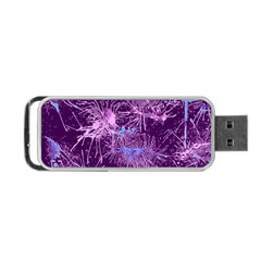 Color Fun 03c Portable Usb Flash (one Side) by MoreColorsinLife