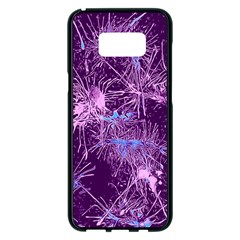 Color Fun 03c Samsung Galaxy S8 Plus Black Seamless Case by MoreColorsinLife