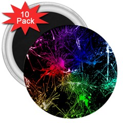Color Fun 03b 3  Magnets (10 Pack)  by MoreColorsinLife