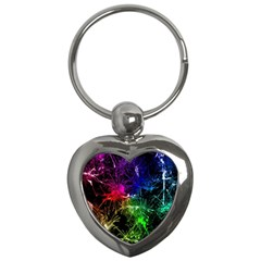 Color Fun 03b Key Chains (heart)  by MoreColorsinLife