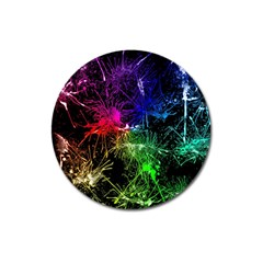 Color Fun 03b Magnet 3  (round) by MoreColorsinLife