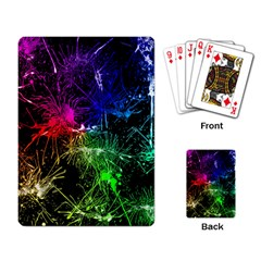 Color Fun 03b Playing Card by MoreColorsinLife