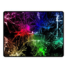 Color Fun 03b Fleece Blanket (small) by MoreColorsinLife