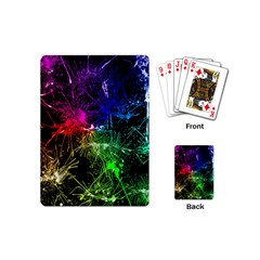 Color Fun 03b Playing Cards (mini)  by MoreColorsinLife