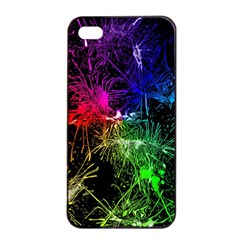 Color Fun 03b Apple Iphone 4/4s Seamless Case (black) by MoreColorsinLife